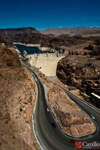 Path to Hoover Dam